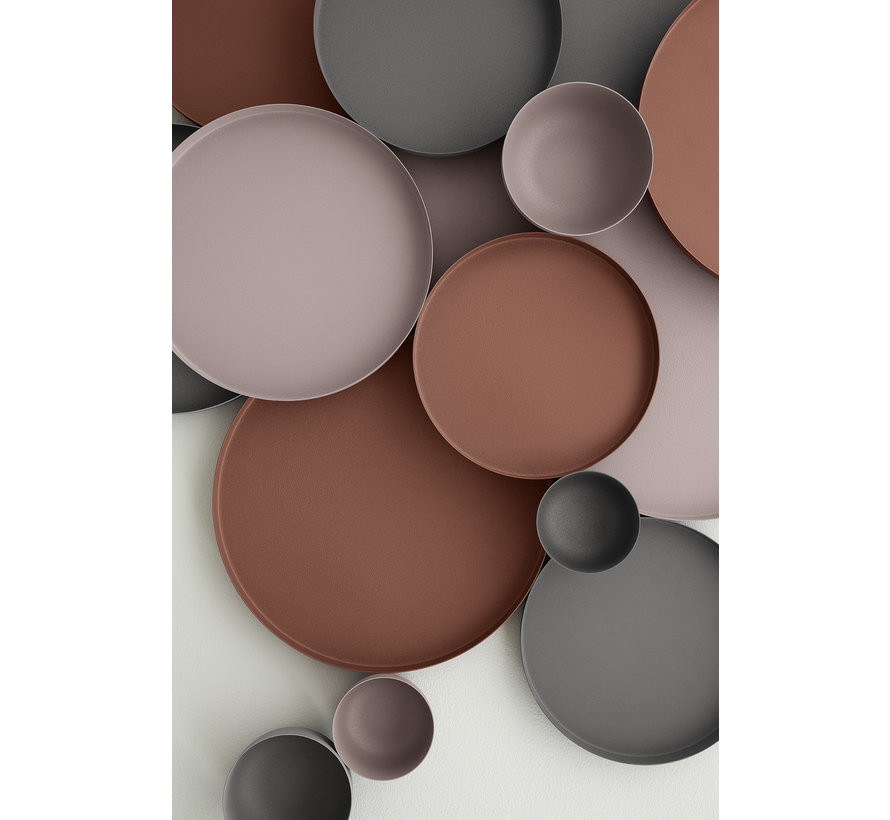 Tray / schaal REO 30,5 cm  (Rustic Brown) 66049