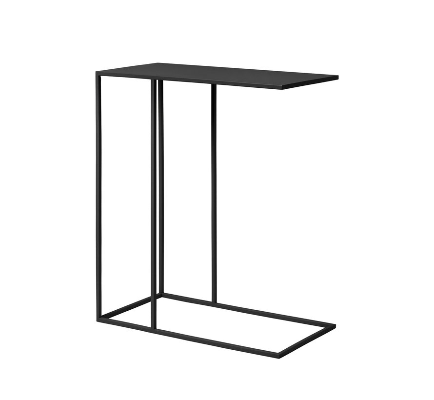 Tavolino FERA verniciato a polvere nero (66011)