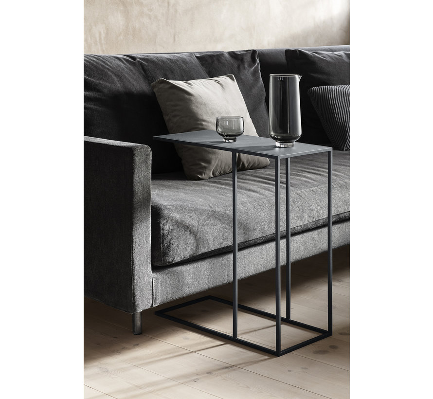 FERA side table  zwart gepoedercoat (66011)