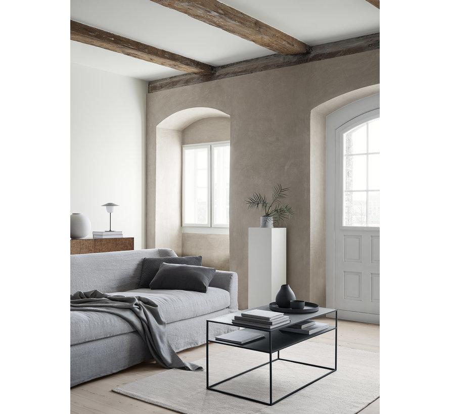 FERA sofabord pulverlakeret stål, farve Mourning Dove (66009)