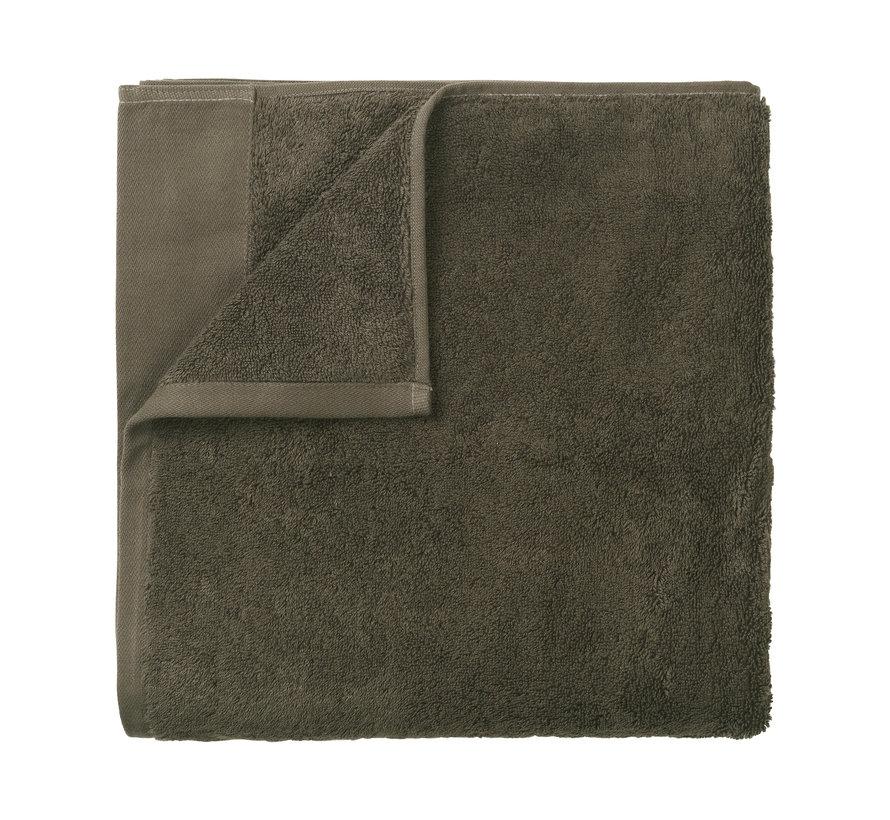 Asciugamano da bagno RIVA 100x200 cm colore Agave Green 700 gr / m² (69252)