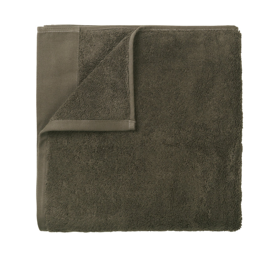 Badehåndklæde RIVA 100x200 cm farve Agave Green 700 gr / m² (69252)