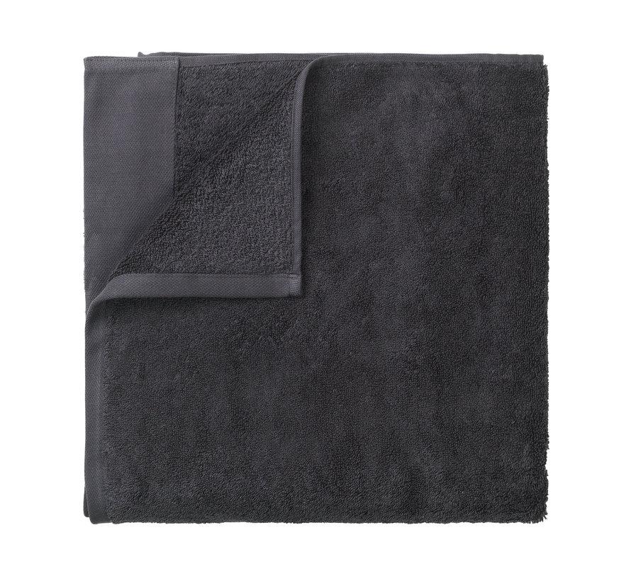 Asciugamano da bagno RIVA 100x200 cm colore Magnete 700 gr / m² (69248)