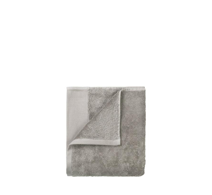 Guest towel (set / 2) RIVA 30x50 cm color Moonbeam 700 gr / m² (69240)