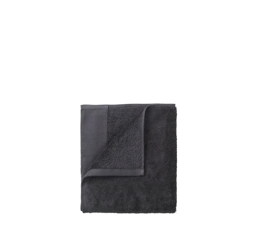 Asciugamano per ospiti (set / 2) RIVA 30x50 cm colore Magnete 700 gr / m² (69238)