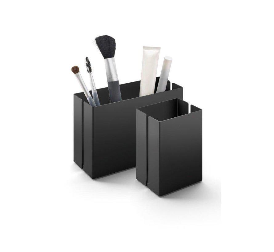 POTES opbevaringsboks 7,5 cm 40536 (pulverlakeret stål, sort)