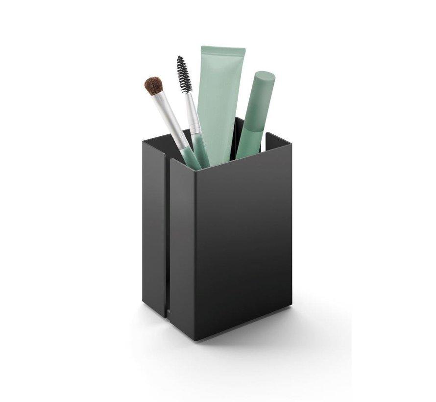 POTES opbergbakje 7,5 cm 40536 (gepoedercoat staal, zwart)