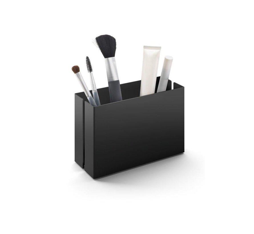 POTES storage box 15 cm 40535 (powder coated steel, black)