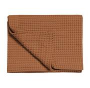 Vandyck HOME Pique waffle blanket 160x250 cm Cognac-162