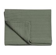 Vandyck HOME Pique waffle blanket 160x250 cm Earth Green-149
