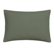 Vandyck HOME Funda de almohada piqué 40x55 cm Verde Tierra-149