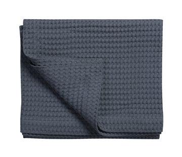 Vandyck HOME Pique waffle blanket 160x250 cm Nightblue-058