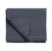 Vandyck HOME Pique waffle blanket 270x250 cm Nightblue-058