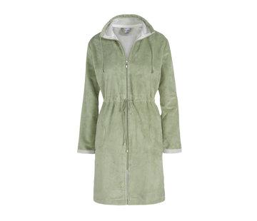 Vandyck CHICAGO bathrobe Light Olive-123