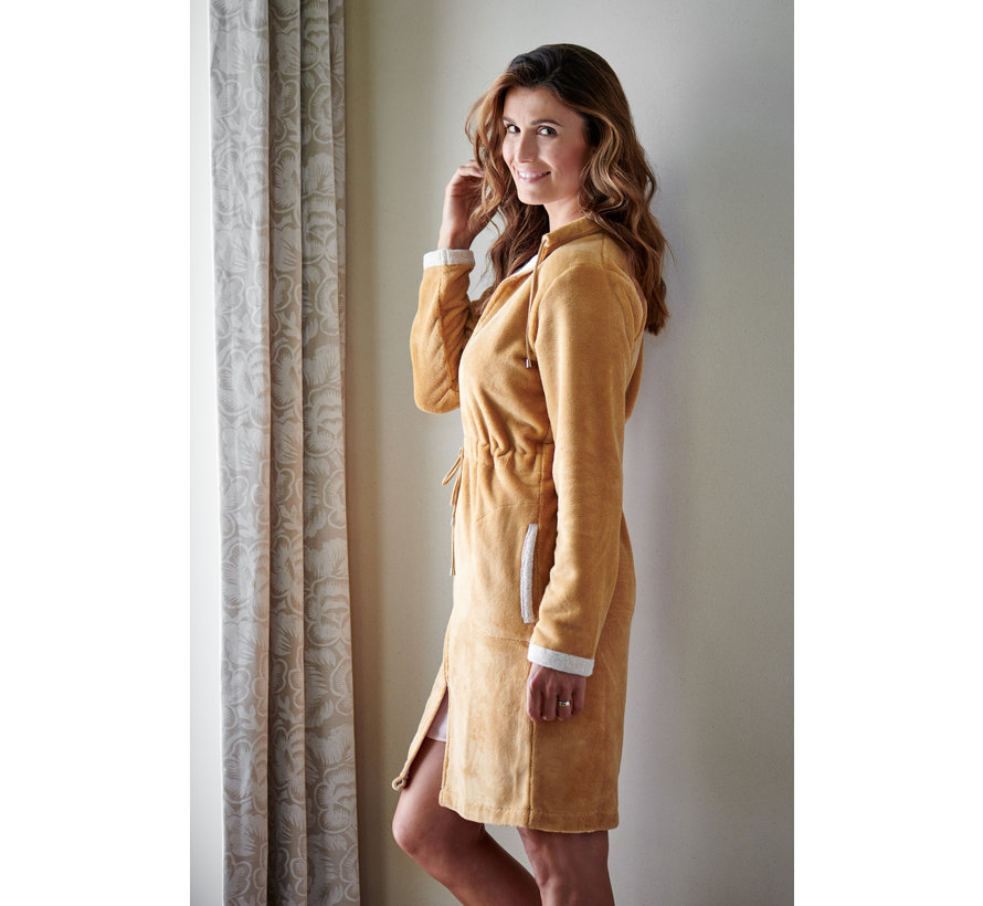 CHICAGO bathrobe color Sandy Gold-117 (BAGE14202)