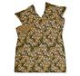 Duvet cover FLOATING TWIGS Sandy Gold 140x220 cm (satin) SAM120202