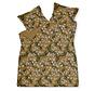 Duvet cover FLOATING TWIGS Sandy Gold 200x220 cm (satin) SAM120202