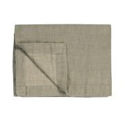 Vandyck PURE 52 plaid / bedspread 160x250 cm Coolgrey (linen)