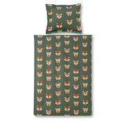 Vandyck Duvet cover JUNGLE KIDS Olive 140x220 cm (cotton)