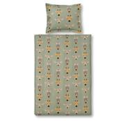 Vandyck Junior duvet cover WILDLIFE KIDS Light Olive 120x150 cm (cotton)