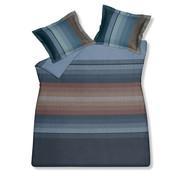 Vandyck Duvet cover INFINITE MIRROR Storm Blue 200x220 cm (satin cotton)