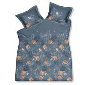 Vandyck Duvet cover AVIEMORE Storm Blue 200x220 cm (satin cotton)