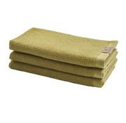 Aquanova Guest towel set / 6 OSLO Mustard-721