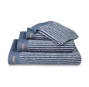 Vandyck Bath towel HOME Petit Ligne Vintage Blue 70x140 cm (set / 3 pieces)