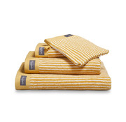 Vandyck Bath towel HOME Petit Ligne Honey Gold 70x140 cm (set / 3 pieces)