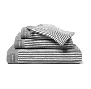 Vandyck Handdoek HOME Petit Ligne Mole Grey 60x110 cm (set/3 stuks)