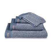Vandyck Handdoek HOME Petit Ligne Vintage Blue 60x110 cm (set/3 stuks)