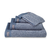 Vandyck Towel HOME Petit Ligne Vintage Blue 60x110 cm (set / 3 pieces)
