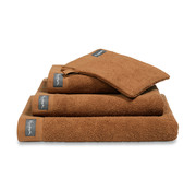 Vandyck Bath towel HOME Uni Cognac 70x140 cm (set / 3 pieces)