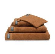Vandyck Towel HOME Uni Cognac 60x110 cm (set / 3 pieces)