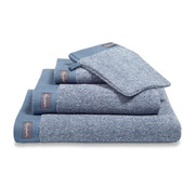 Vandyck Bath towel HOME Mouliné Vintage Blue 70x140 cm (set / 3 pieces)