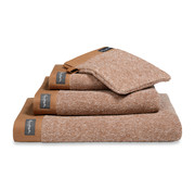 Vandyck Bath towel HOME Mouliné Cognac 70x140 cm (set / 3 pieces)