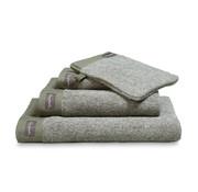 Vandyck Håndklæde HJEM Mouliné Olive 60x110 cm (sæt / 3 stk.)