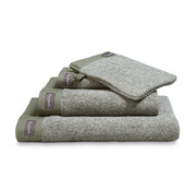 Vandyck Guest towel HOME Mouliné Olive (set / 6 pieces)
