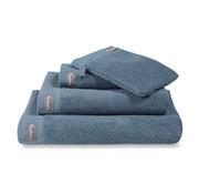 Vandyck Badehåndklæde HJEM Uni Vintage Blue 90x180 cm (sæt / 2 stk.)