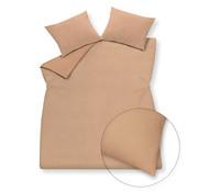 Vandyck Duvet cover PURITY 79 Praline 140x220 cm (linen / cotton)