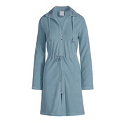 Vandyck VOGUE bathrobe Storm Blue-173