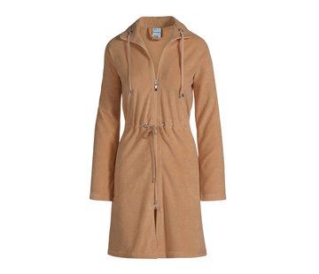 Vandyck VOGUE bathrobe Praline-163
