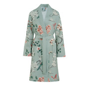 Vandyck Bathrobe MELODY Light Green-159