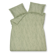 Vandyck Duvet cover TINY LEAVES Smoke Green 140x220 cm (cotton)