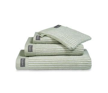 Vandyck Towel HOME Petit Ligne Smoke Green-814