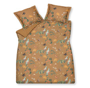 Vandyck Duvet cover WANDERLUST Toffee 140x220 cm (satin cotton)