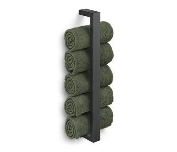 ZACK LINEA guest towel holder (black)