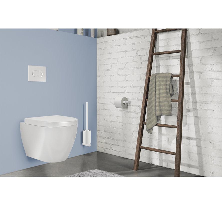 CARVO toilet brush set wall 40817 (white)