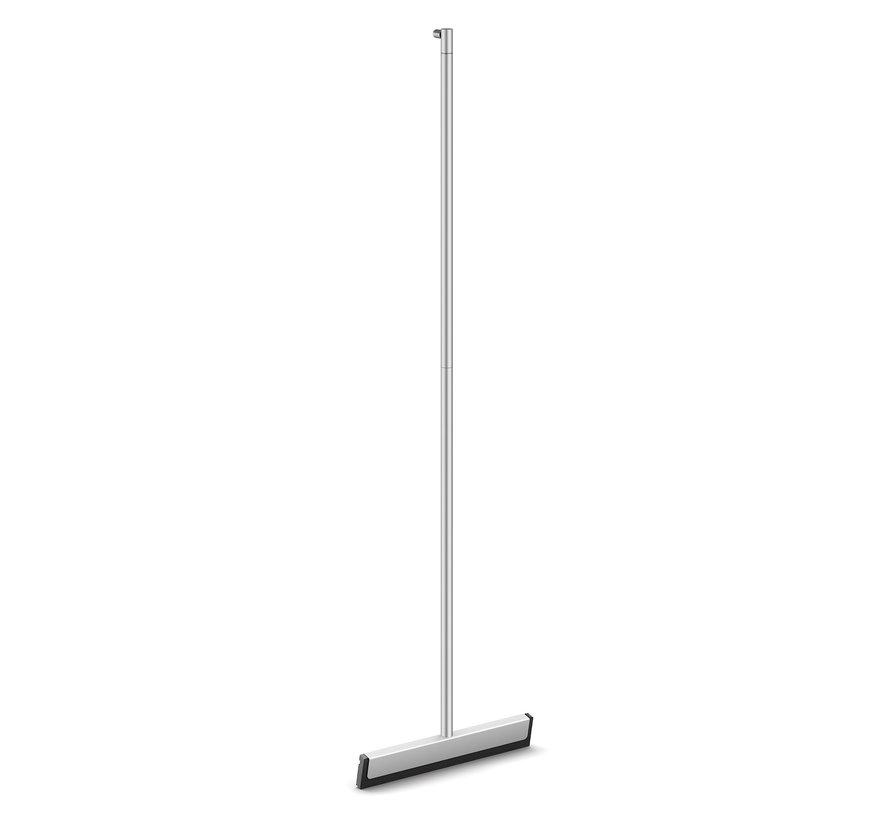 YEMO floor wiper 125 cm with wall holder 40150 (mat)