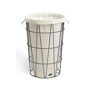 ZACK SATONE laundry basket (black)